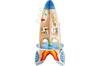 Jouets premier âge SMALL FOOT Jeu de motricité fusée