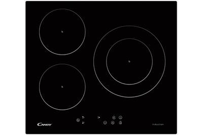 plaque induction candy table de cuisson induction 60cm 3 feux 7000w noir ci630c1b darty. Black Bedroom Furniture Sets. Home Design Ideas