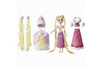 Poupées Hasbro Disney : raiponce et ses coiffures