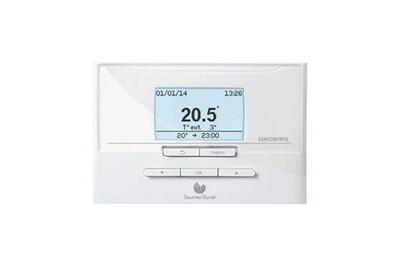 Thermostat et programmateur de chauffage Saunier Duval Thermostat programmation saunier duval exacontrol e7r c-b