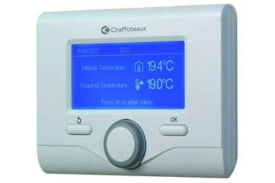 Thermostat et programmateur de chauffage Chaffoteaux Commande à distance expert control rt - chaffoteaux
