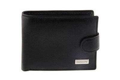 tout neuf 2c59b caab2 Kinsell ® portefeuille homme en cuir simple et pratique a l'italienne