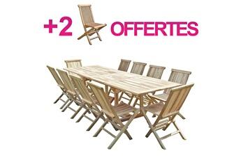 Ensemble table et chaise de jardin | Darty