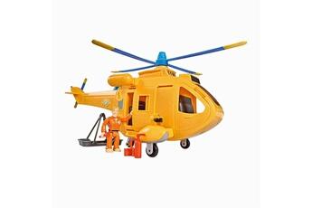 Véhicules miniatures SMOBY Véhicule de secours sam le pompier : hélicoptère wallaby 2