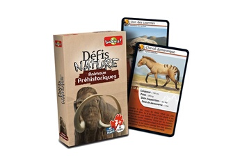 Jeux en famille Bioviva Défis nature : animaux préhistoriques