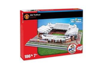 Puzzles Mega Bleu Puzzle 3d 186 pièces : stade de foot : old trafford (manchester united)