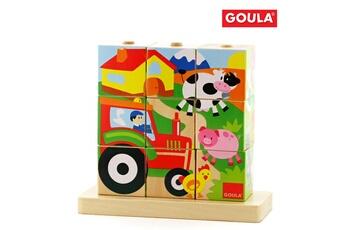 Puzzles Goula Puzzle 9 cubes : ferme