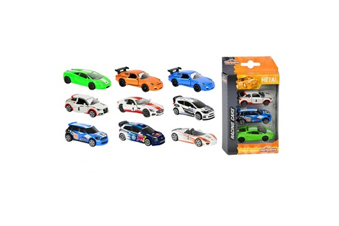 Voitures majorette premium racing : set 3