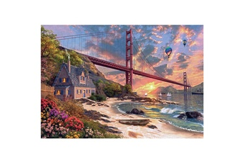 Puzzles Jumbo Puzzle 1000 pièces : golden gate bridge