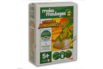 Pâte à modeler et bougie Mako Creations Moulage en plâtre mako moulages : le monde des dinosaures