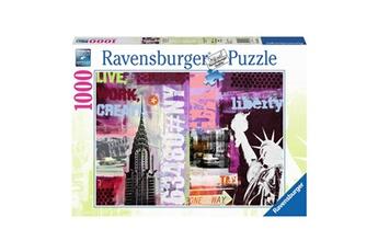 Puzzles RAVENSBURGER Puzzle 1000 pièces : new-york city collage