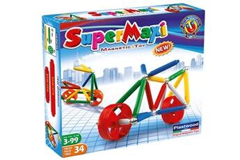 Tapis de jeu et tapis de sol Construction Toys Magnetic supermaxi roues moto