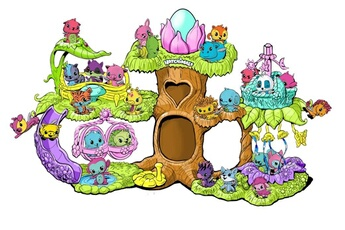 Autres jeux créatifs Spin Master Display eclosion hatchimal modèle aléatoire