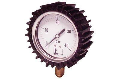 Accessoires chauffage central Diff Manomètre inox à glycérine avec protection - manomètre inox à glycérine avec protection ø 63 - 0 à 25 bars