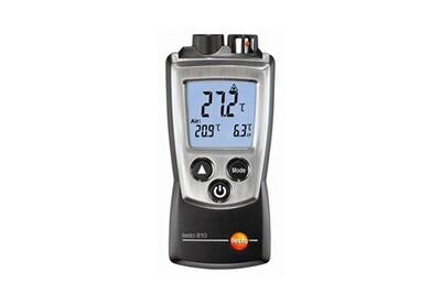 Accessoires chauffage central Testo Thermomètre infrarouge et d'ambiance de poche - testo 810 - prix net