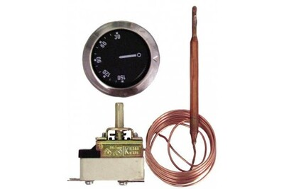 Accessoires chauffage central Diff Aquastat de régulation à bulbe et capillaire ab224l