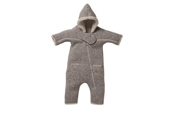Gigoteuse Red Castle Combinaison t zip red castle 12-18 mois - gris chiné / blanc