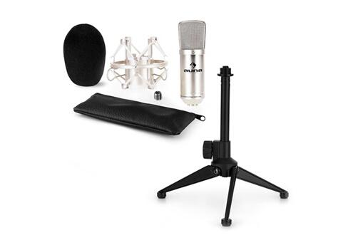 Cm00s kit micro v1 micro de studio argent trépied table réglable en hauteur