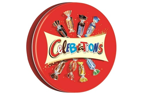 Celebrations Celebrations collector metal box