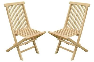 Chaise et fauteuil de jardin Teck\'line Chaise pliante jenae teck ...