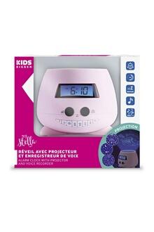 Réveil projecteur pour enfant soft touch couleur rose