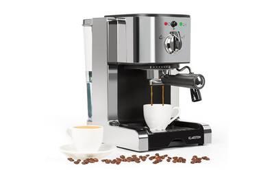 Passionata 20 Machine à Café Expresso Pression 20 Bar Réservoir 1 25l 6 Tasses 1350w Argent