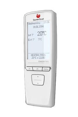 Thermostat et programmateur de chauffage Saunier Duval Thermostat programmation saunier duval exacontrol e7rb avec récepteur radio