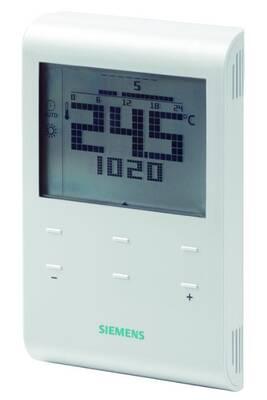 Thermostat et programmateur de chauffage Siemens Thermostat d'ambiance rde100 multiprogrammes à piles