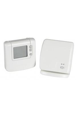 Thermostat et programmateur de chauffage Honeywell Thermostat d'ambiance sans fil digital non programmable dt92 avec boitier relais