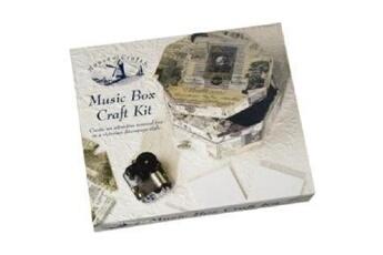 Autres jeux créatifs House Of Crafts Boite musicale à construire victorienne mozart