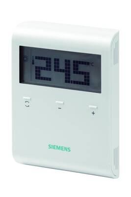Thermostat et programmateur de chauffage Siemens Thermostat ambiance rdd 100 non programmable sur secteur 230v