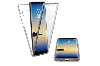 Vshop® samsung galaxy note 8   silicone coque intégrale en tpu   housse téléphone portable étui bumper transparente