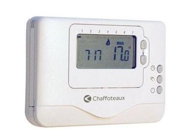 Thermostat et programmateur de chauffage Chaffoteaux Thermostat programmable easy control bus