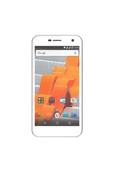 Hisense Wileyfox spark + smartphone débloqué 4g (ecran : 5 pouces - 2go ram - 16 go - double sim - android 6.0) – blanc