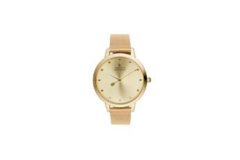 81823ddea306d Montre femme Montre femme charlotte raffaelli mouvement quartz cadran doré  36mm et bracelet doré en maille