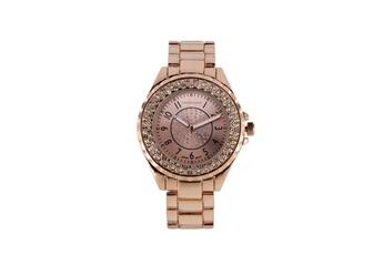 6ac5f9ac70 Montre femme Montre femme jean bellecour cadran 39mm en acier rose doré et  bracelet rose doré