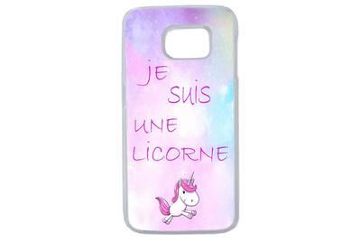 coque licorne galaxy s7