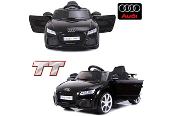 Véhicule électrique Petite voiture électrique enfant 12 volts audi tt s  pack luxe noir à télécommande e0b70792ee67