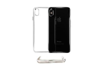 Coque housse silicone ultra slim transparente semi rigide pour apple iphone x