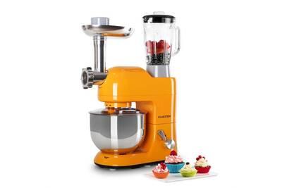 Robot multifonction klarstein lucia orangina robot de cuisine p trin mixeur hachoir orange darty - Robot de cuisine petrin ...