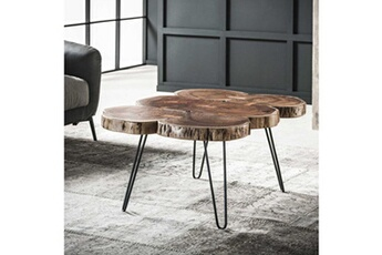 Table basse Table basse 6 troncs trunk bois massif Inside 75 2aa56d0e1080