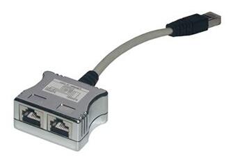 Cables MCL Samar Accessoires Réseau RJ-45F/M/FCEB
