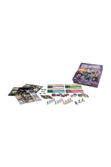 Jeux en famille ASMODEE Zombicide - extension - angry neighbors