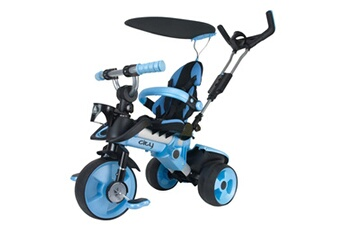 Véhicule à pédales INJUSA Tricycle city bleu 3261
