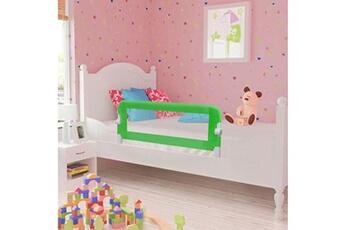 Barrière de lit Vidaxl Barrière de lit pour enfants 102 x 42 cm vert