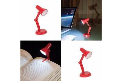 lampes et veilleuses new lampe de lecture mini lampe d architecte led clip marque page et pied. Black Bedroom Furniture Sets. Home Design Ideas