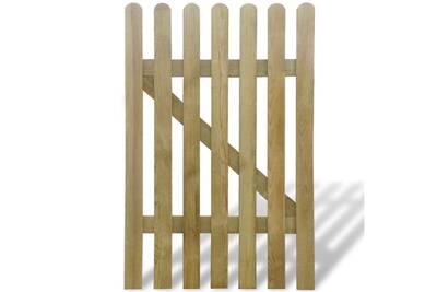 Portillon Vidaxl Portillon 100 x 150 cm bois fsc   Darty