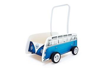 Jouets premier âge Hape Trotteur bus classique t1 bleu