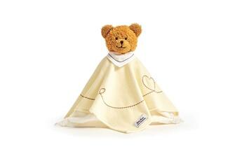 Peluches Käthe Kruse Poupée serviette bear caramel jaune 0174921