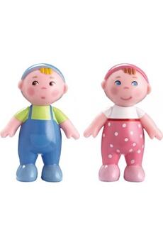 Poupées HABA Little friends - bébés marie et max